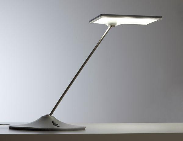 My white led horizon task light by humancale i love it more