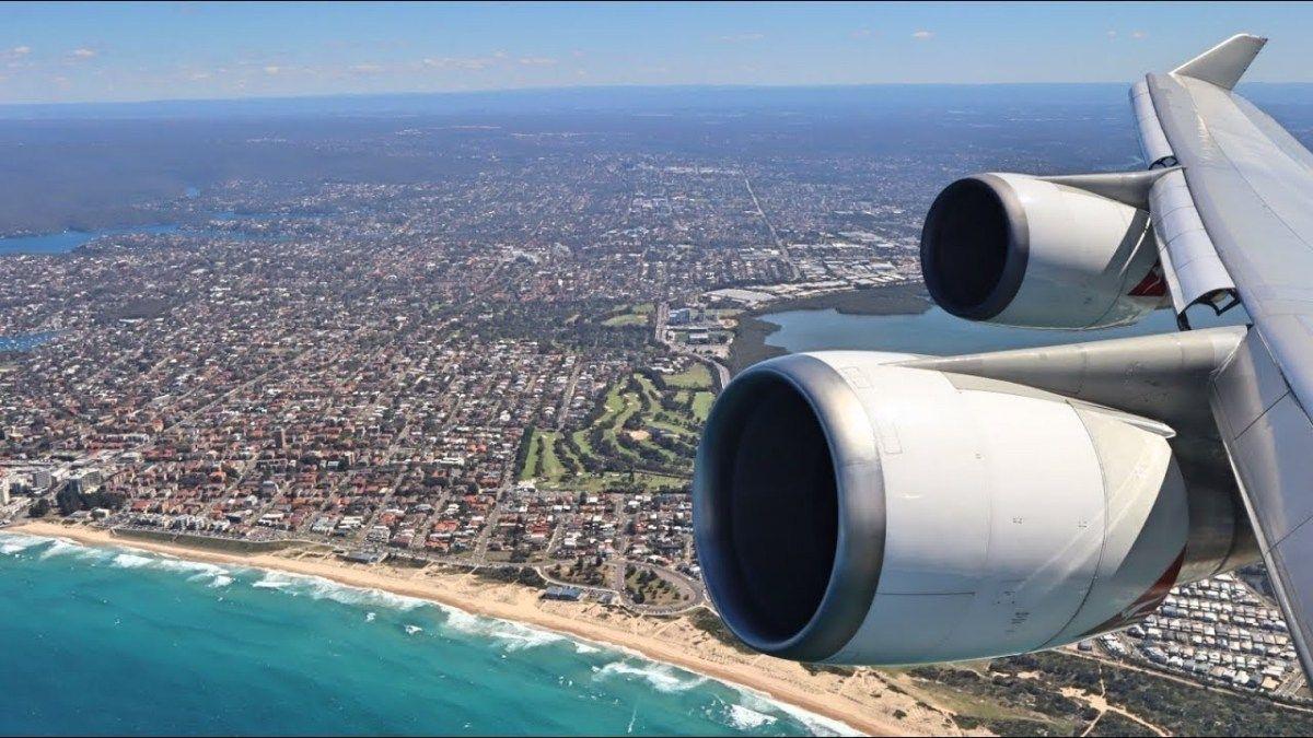 QANTAS B747400 Business enterprise Class Sydney to South