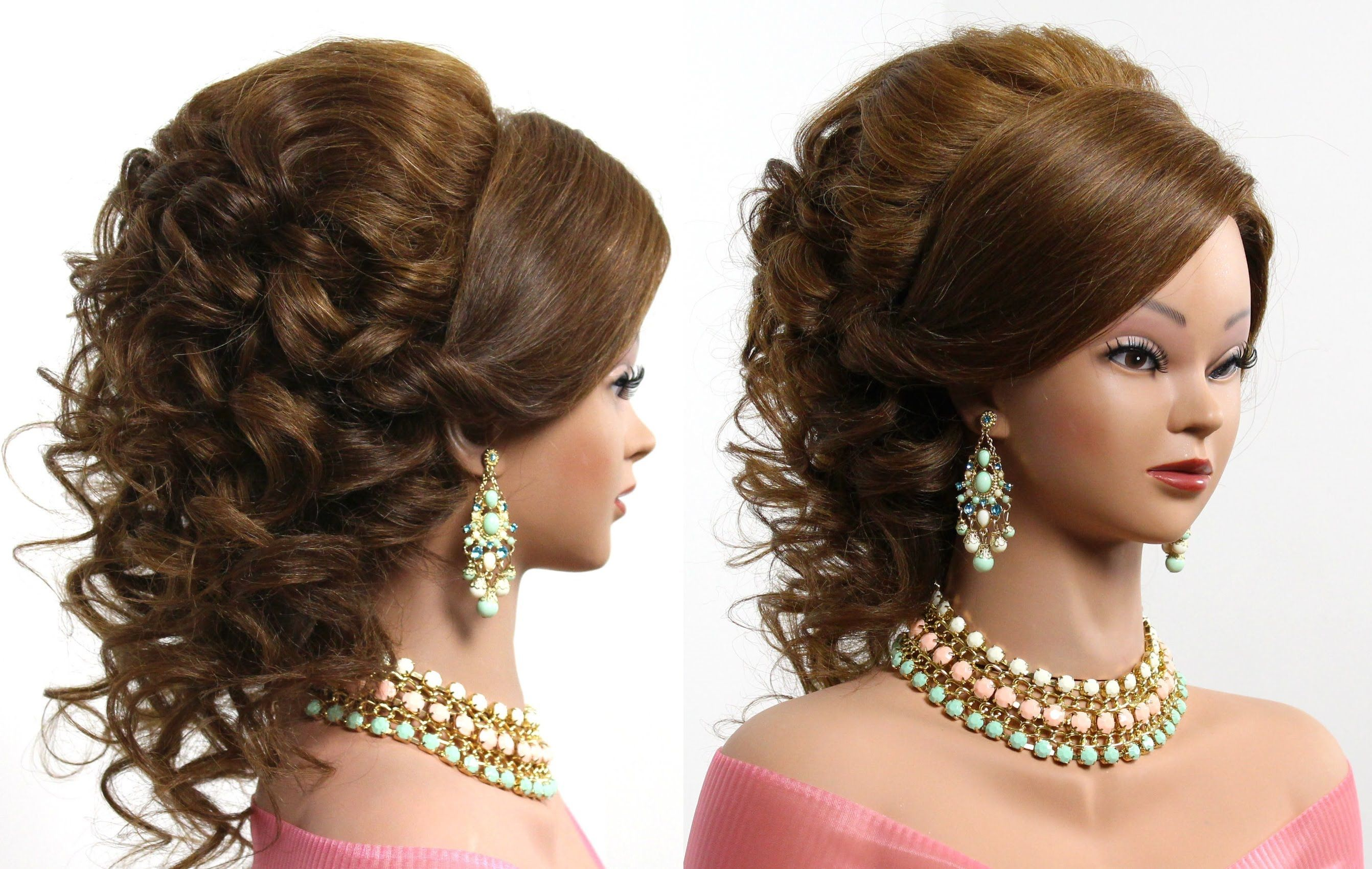 Arabic Wedding Hairstyle For Medium Long Hair Frisuren Frisur