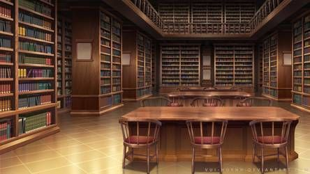 Library by Vui-Huynh on DeviantArt