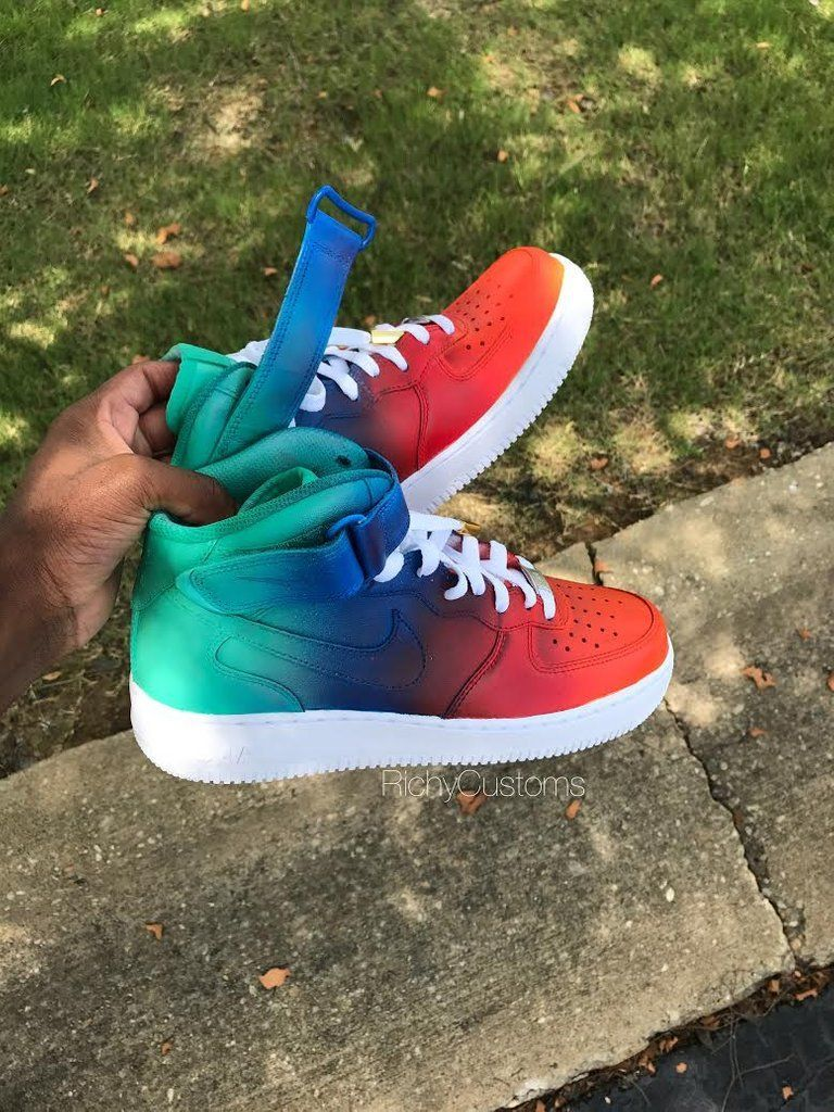 Image of Toucan AF1s Mid🍊⛱ More actions is part of Shoes sneakers jordans -