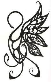 Celtic Swan Tattoos Pinterest Swan Tattoo Tattoos Tattoo For Son
