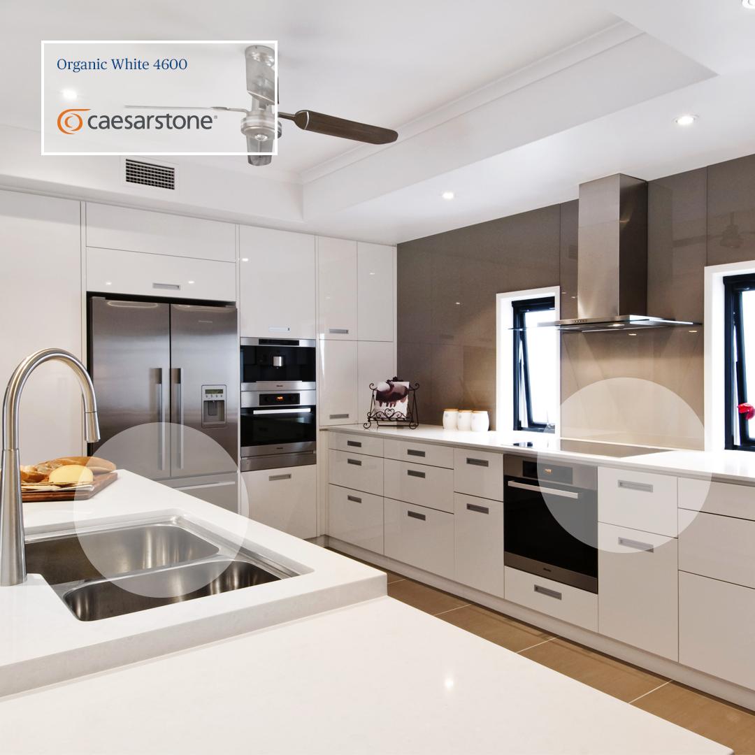 Las Cocinas Blancas Nunca Pasar N De Moda Organic White Con Sus  # Los Muebles Powerpoint