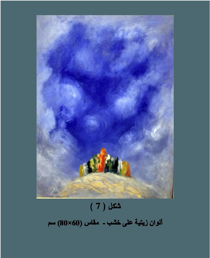 الأداء الإنفعالى للفنان وأثره على صياغة الفكرة وجاذبية المتلقى سياسة اللاعودة Art Painting