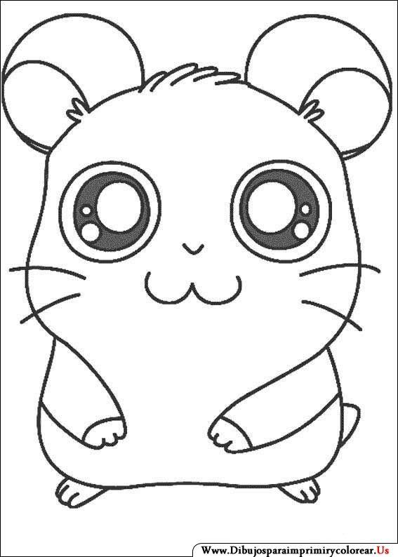 Dibujos De Hamtaro Para Imprimir Y Colorear Dibujos Dibujos Para Colorear Pokemon Y Dibujos Faciles