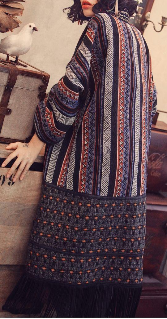 Autumn and winter maze woolen coat