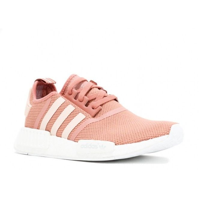 Free Shipping ADIDAS NMD R1 W SHOES raw pink white