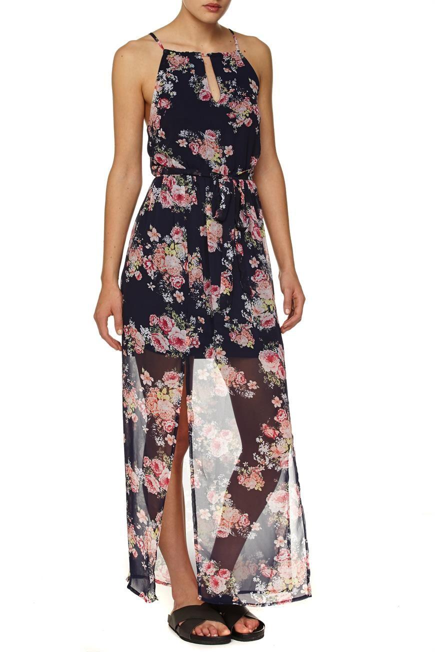 b725992076 Cotton On  WV Alita High Neck Halter Maxi Dress