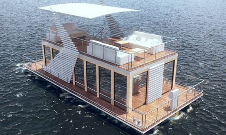 24 Incredible And Stunning Boat House You Will Love House Boat