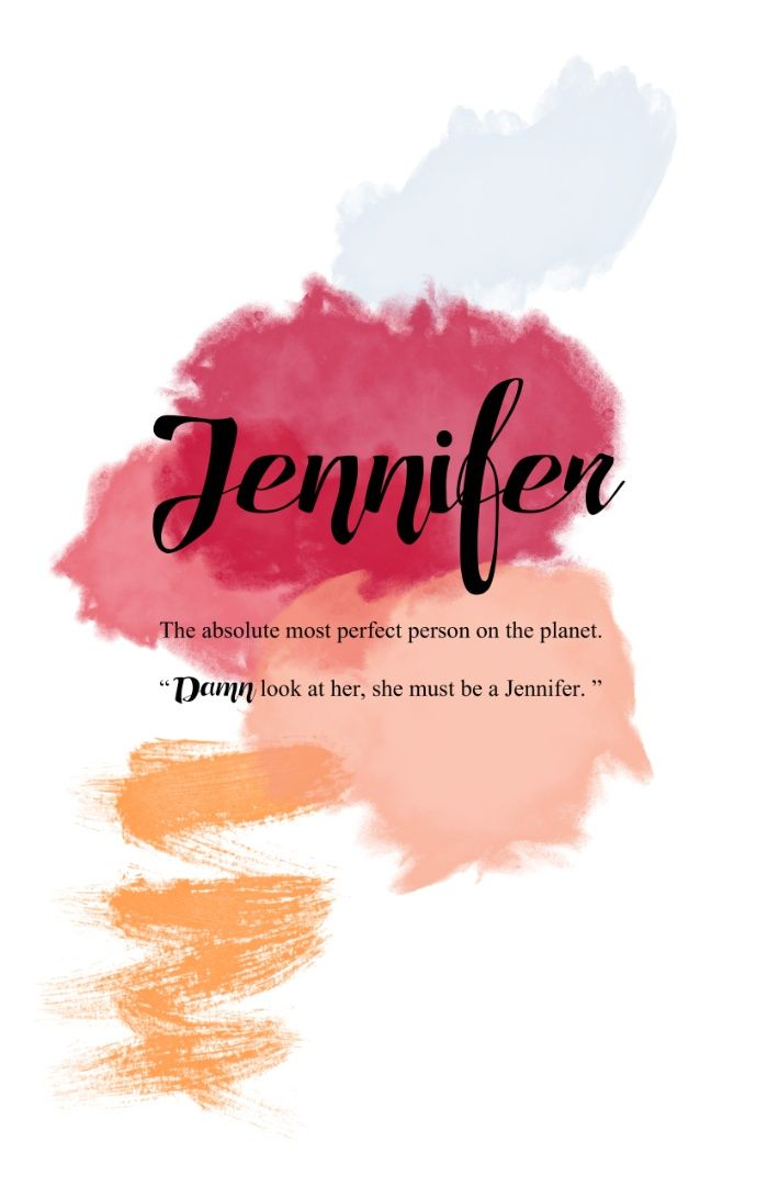 What's your name ? Jennifer Art Print by Cadile | Society6 ...