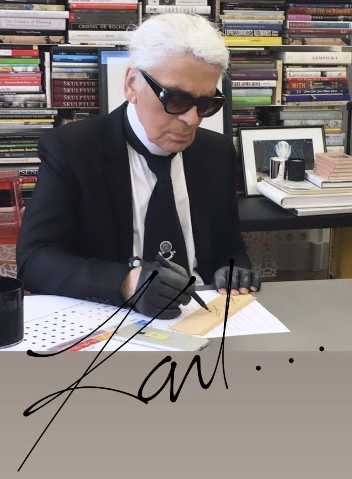 Pin Von Priska Auf Karl Lagerfeld