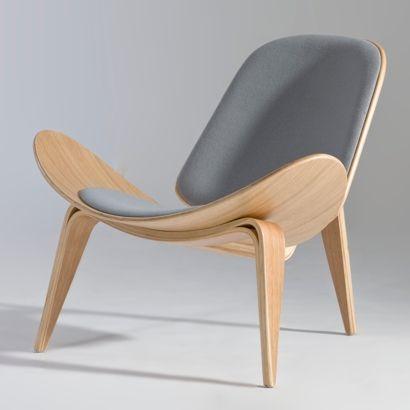 Hans J Wegner Shell Lounge Chair Furniture Design