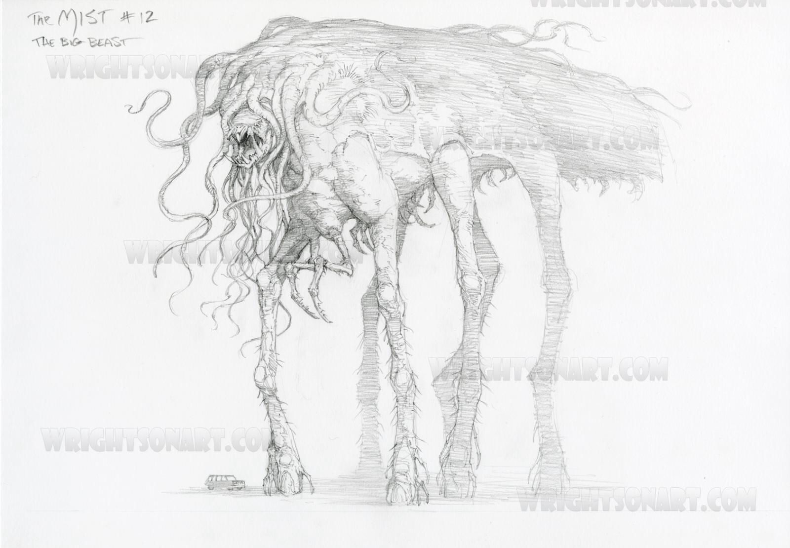 Some More Creatures From The Mist 괴물 포스터 디자인 포스터