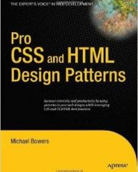 Pro css and html design patterns pdf download programming ebooks design patterns pdf fandeluxe Choice Image
