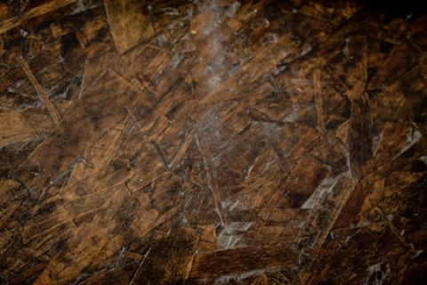 Stained Chipboard Floor Diy Flooring House Decor Rustic Plywood Floors
