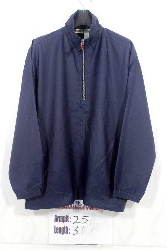 dc6f3690ed Vintage 90s Nike Navy Blue Swoosh Windbreaker Jacket Size Medium M   Vintage  nike Windbreaker   Nike