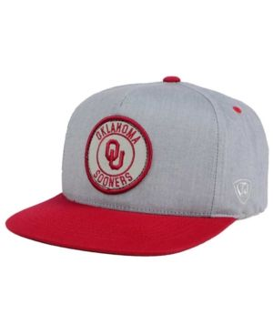 cozy fresh biggest discount lowest discount Top of the World Oklahoma Sooners Illin Snapback Cap - Gray ...