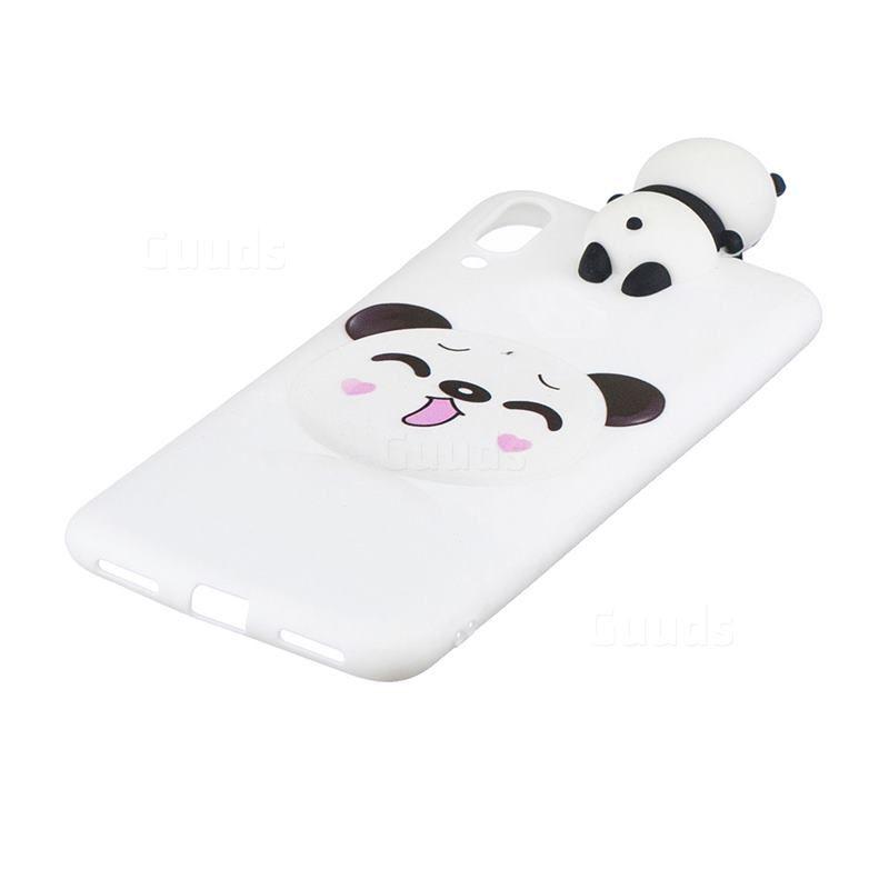 2019 的 Smiley Panda Soft 3D Climbing Doll Soft Case for Samsung