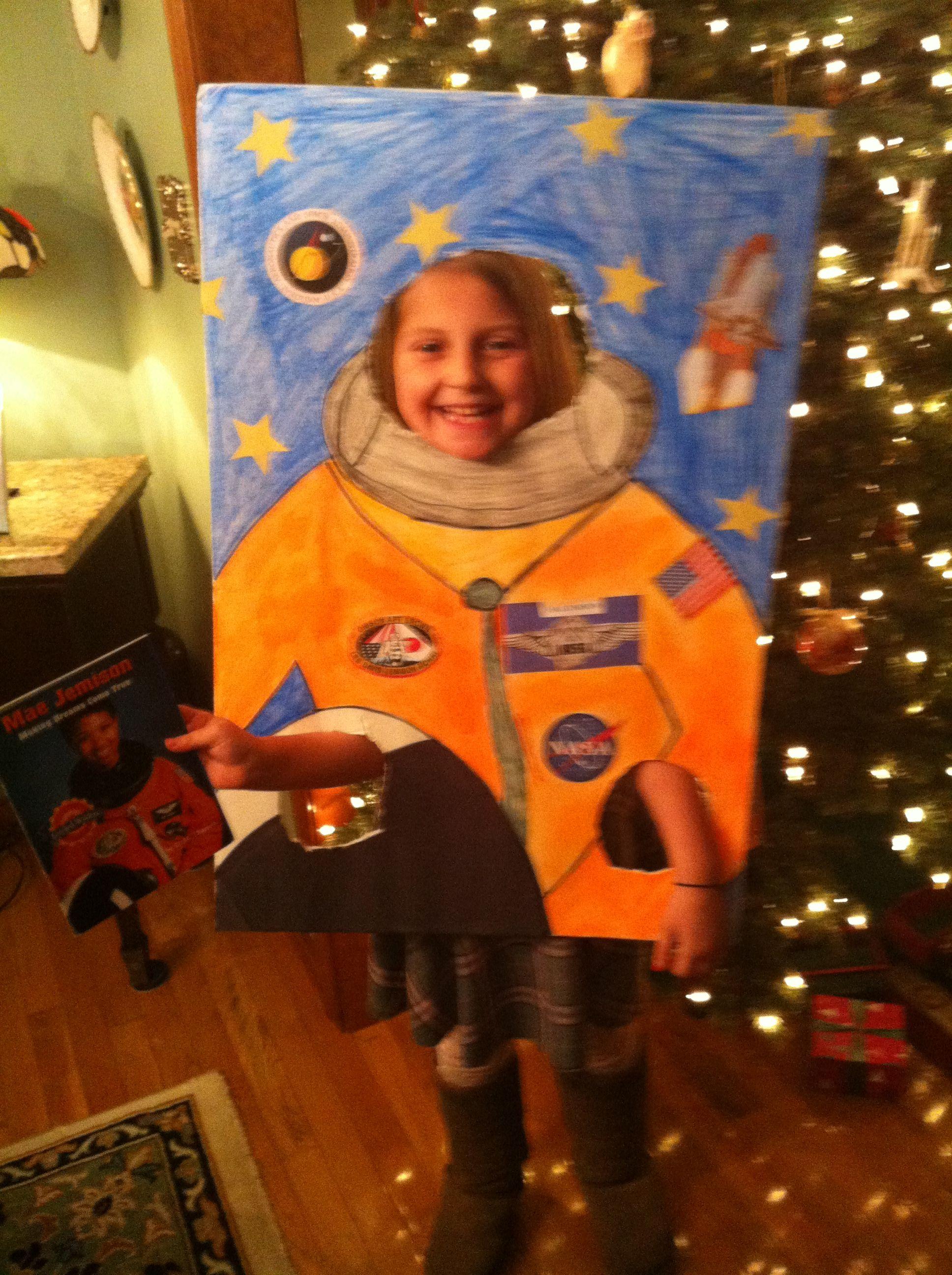 Mae Jemison Astronaut School Project Education Diy