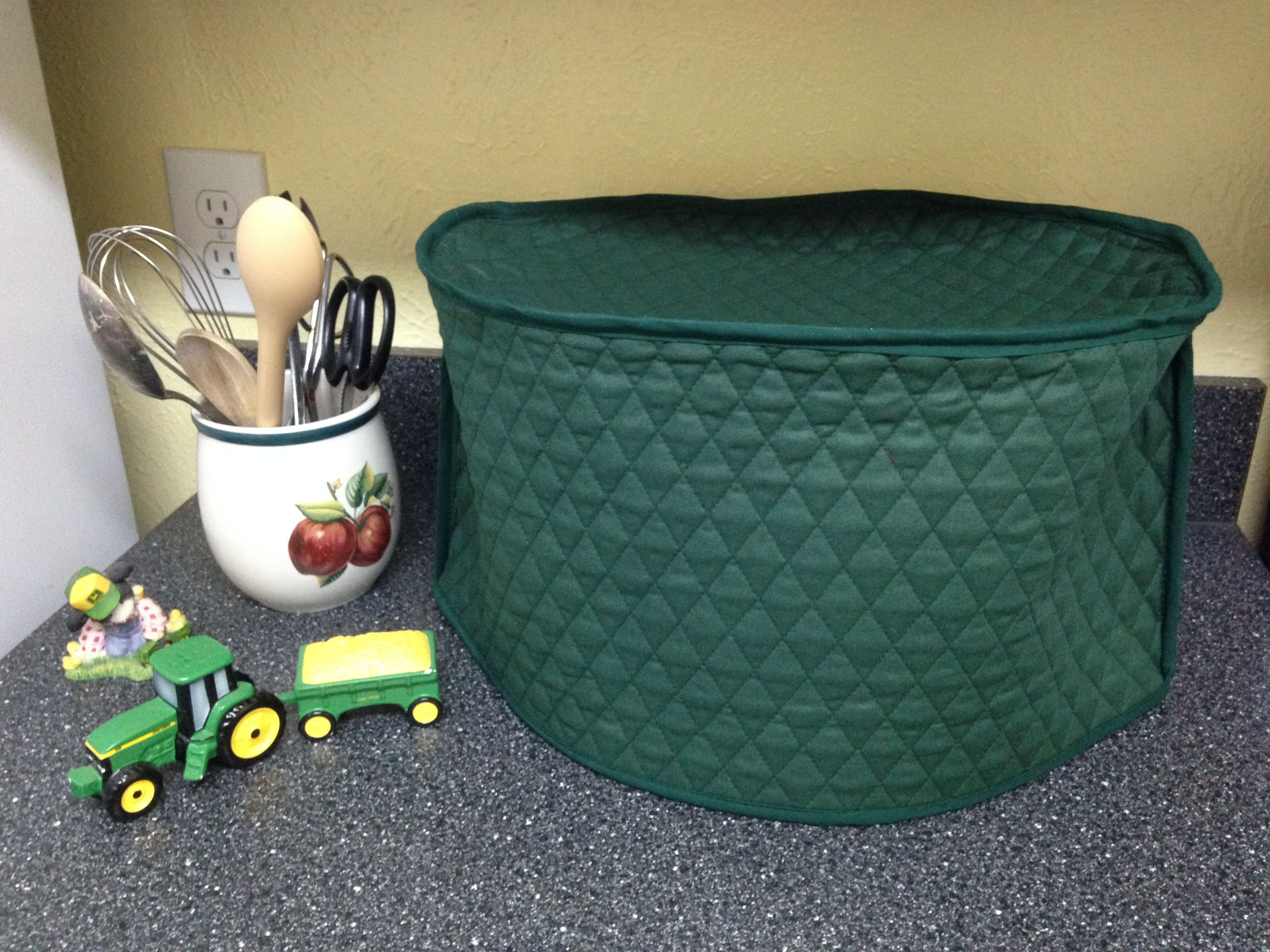 Hunter Green Oval Crock Pot Dust Cover Made To Order Crock Pot Sizes Green Oval Small Appliance Covers
