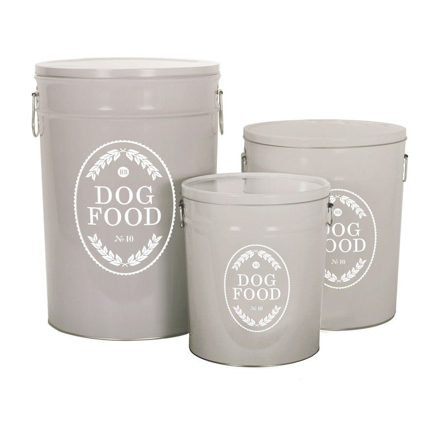 Check Out These Stylish Dog Food Storage Containers From