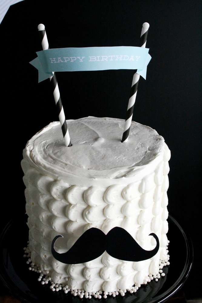 Little Man Mustache Bash Birthday Party Ideas Birthday party