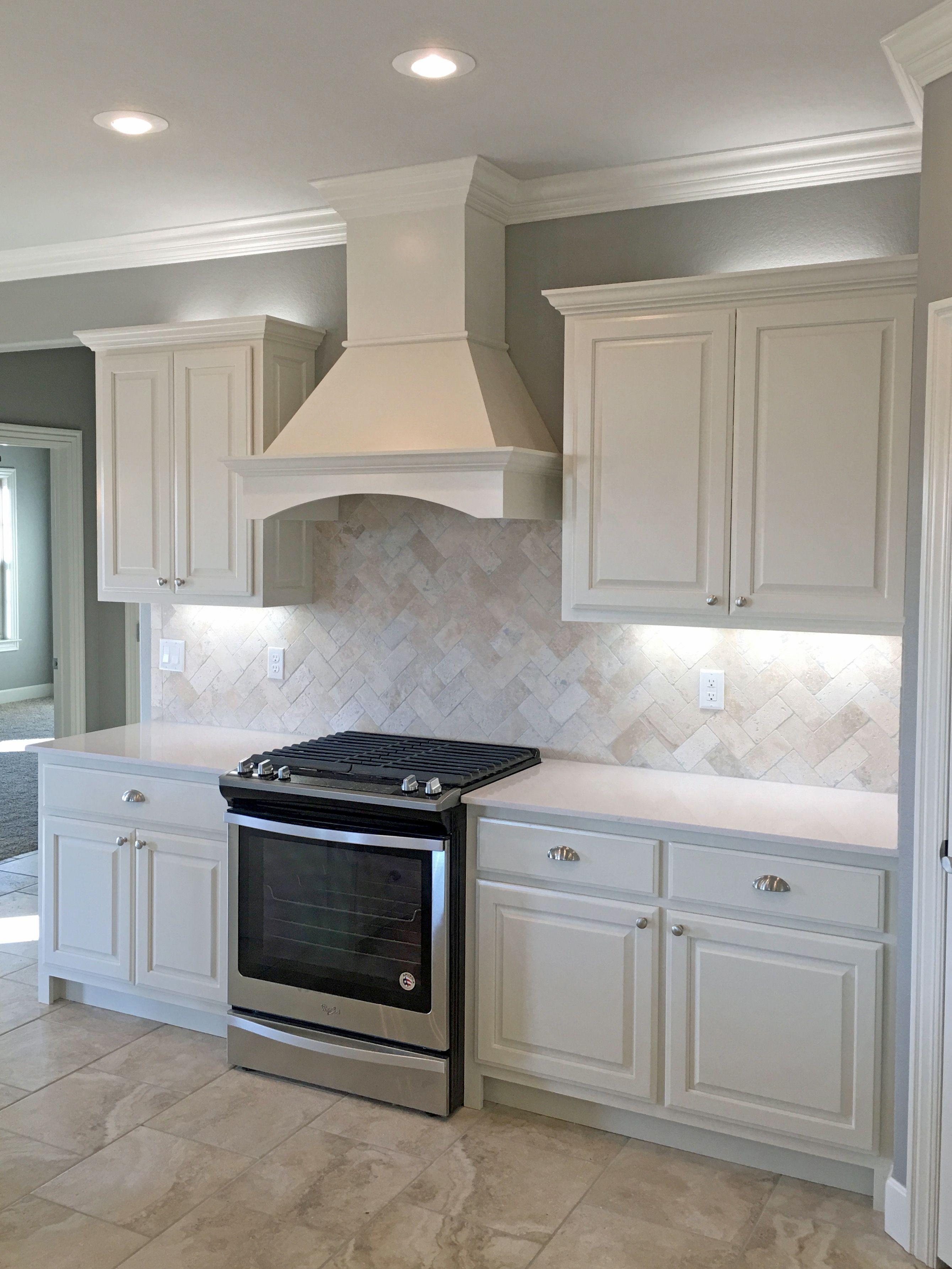 Backsplash For White Kitchen Kohler Faucets Home Depot With Satin Nickel Fixtures Pendant Lights