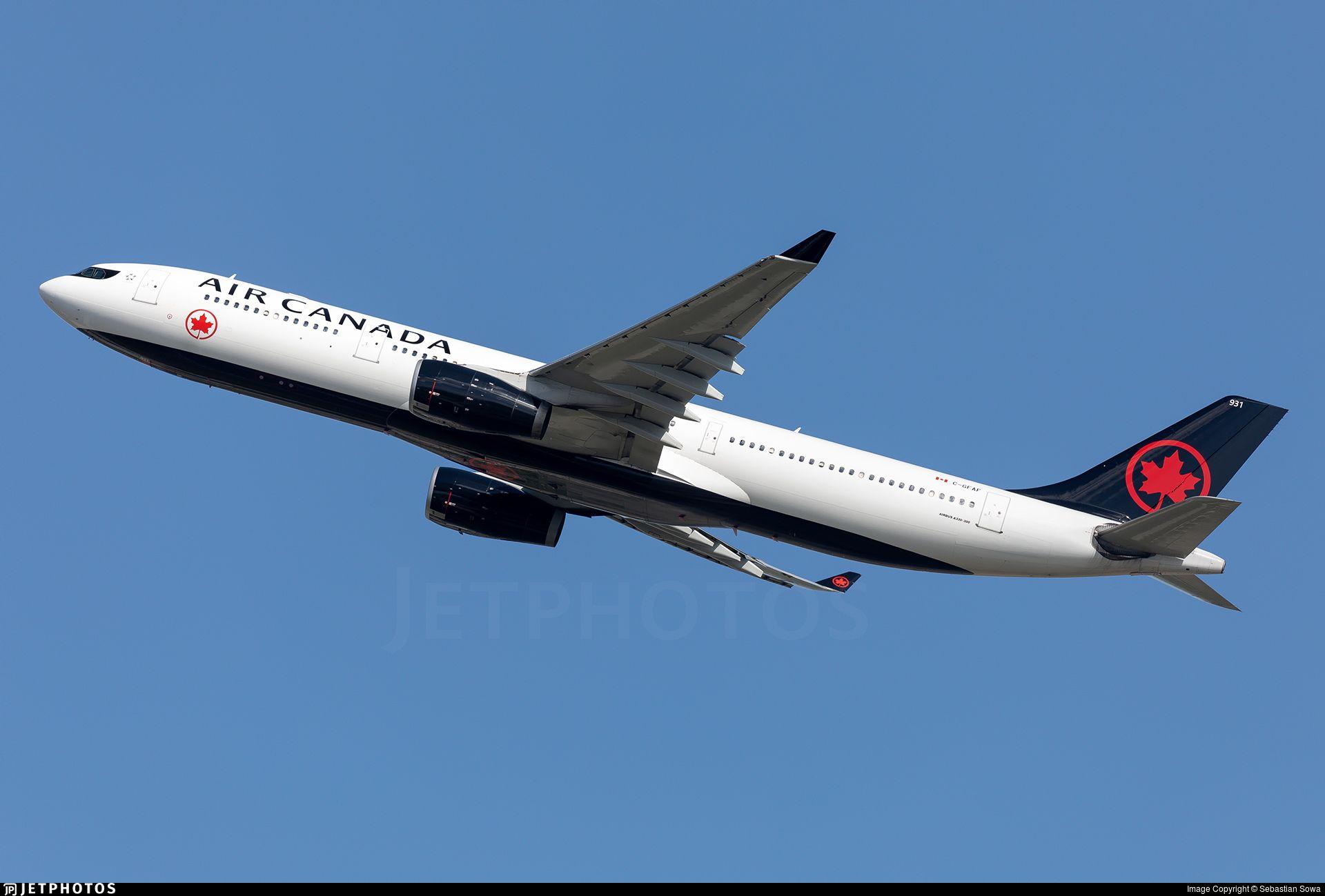 Photo of CGFAF Airbus A330343 Air Canada Airbus