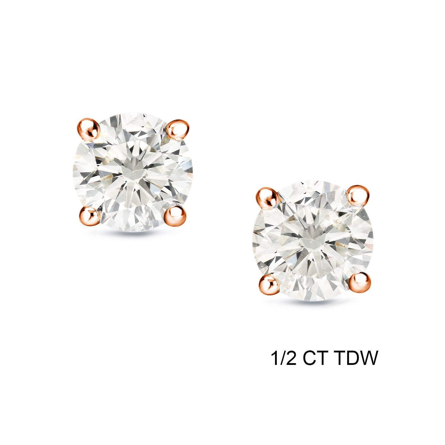 Nordstrom 8ct tw Cubic Zirconia Stud Earrings basic inexpe