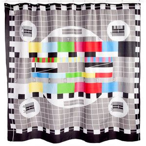 Eu Fab Com Ingenious Gifts From Moscow Patterned Shower Curtain Shower Curtain Curtains