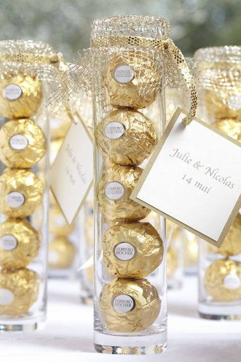 Ferrero Rocher Wedding Favors Google Search Wedding Gift Favors Best Wedding Favors Edible Wedding Favors