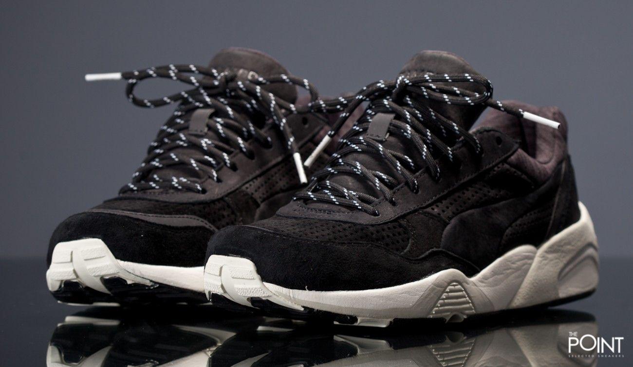 Zapatillas Puma R698 Black x Stampd, ya podemos contar con el modelo de  zapatillas #