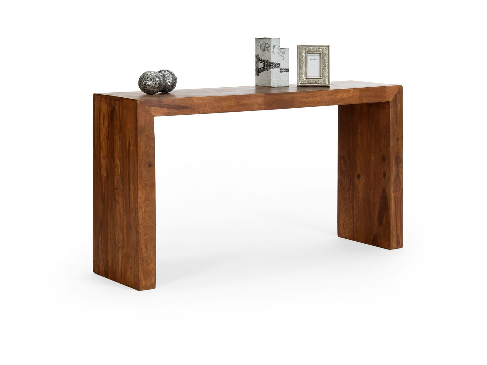 Table Console Extensible 3 Rallonges Bois Wenge Nassau Cuisine  ~ Table Console Extensible En Bois Massif