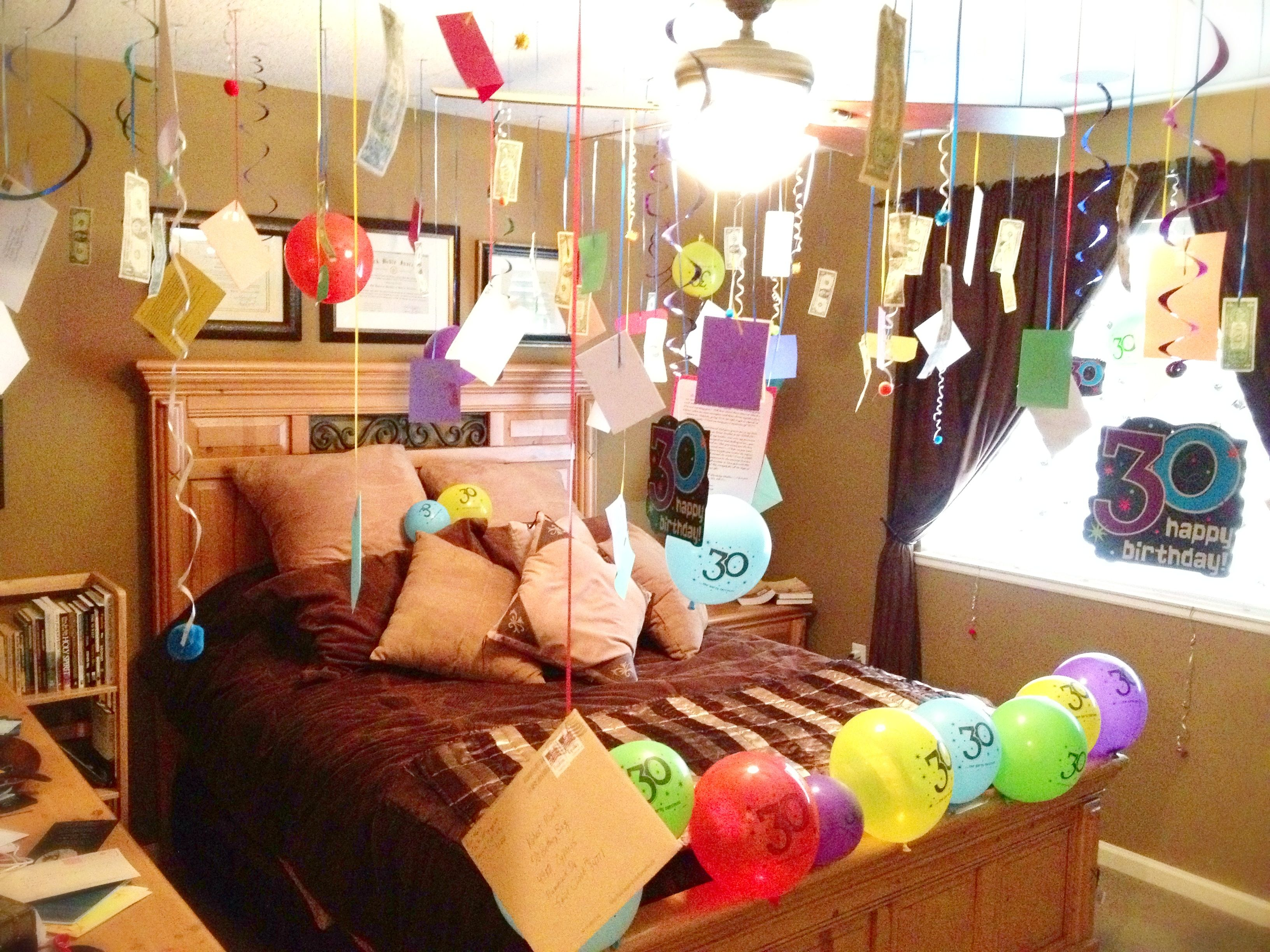 Happy Birthday Room Decoration Suprise Surprise Pinterest