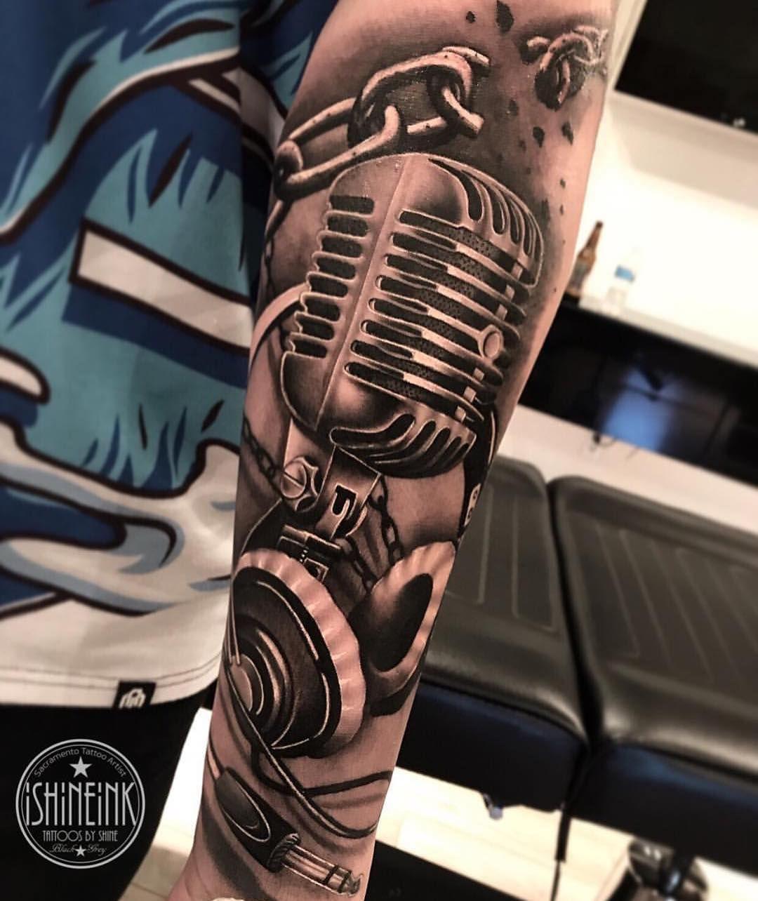 Musik männer tattoos motive 50 einzigartige
