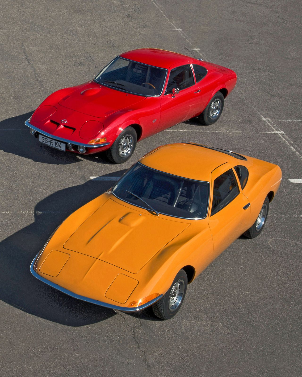Vintageclassiccars: Opel GT