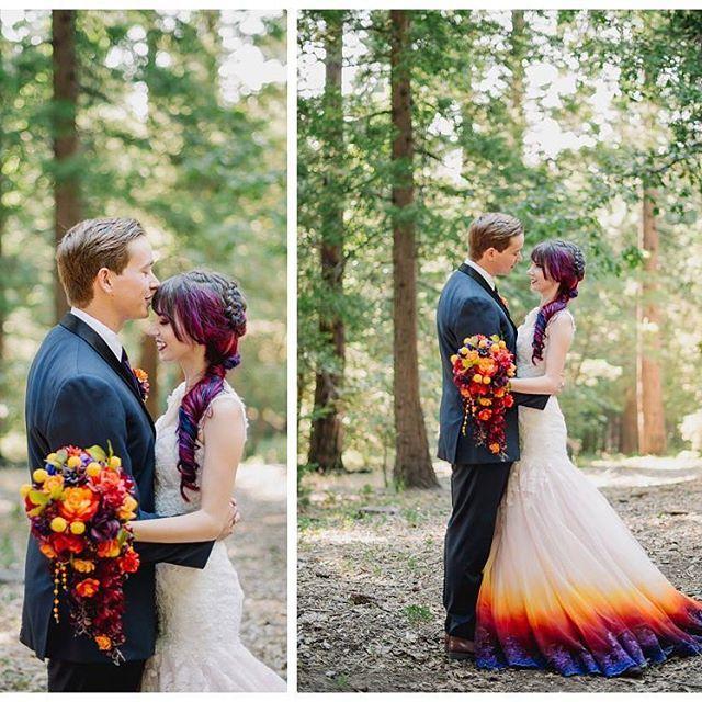 Zum Niederknien: Eine Braut aus den USA hat ihr Hochzeitskleid in ...