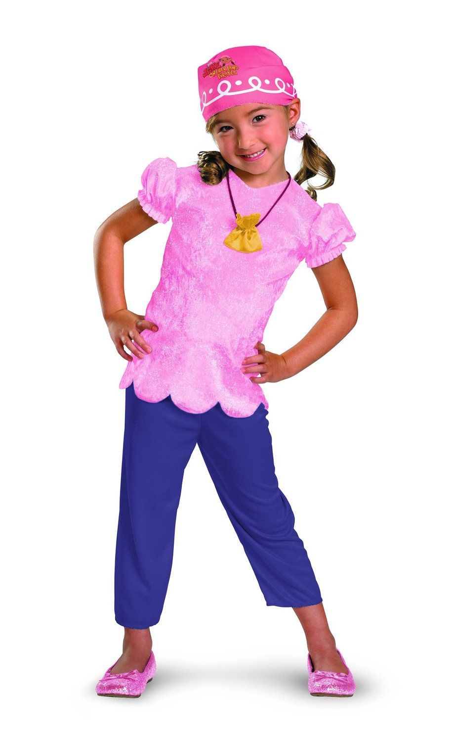Brand New Jake and the Neverland Pirates Izzy Deluxe Toddler Halloween Costume