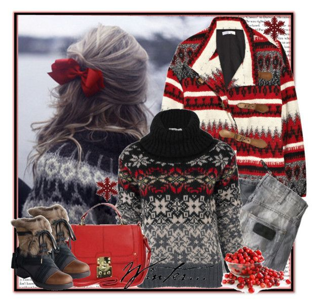 Winter coat by annabu on Polyvore featuring polyvore, fashion ...