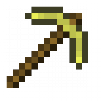 Gold Pickaxe Minecraft Item Id Crafting List Wiki Minecraft Pocket Edition And Pc Release 1 15 2 Minecraft Pixel Art Minecraft Minecraft Id