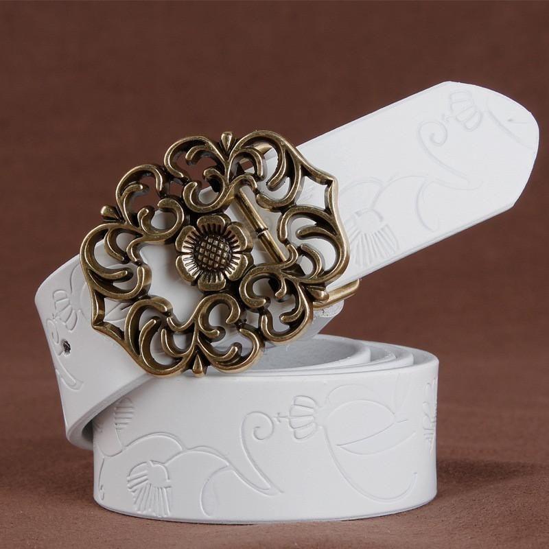 Cinturones · Women s belts cowskin genuine leather waistband high quality 2ba54af2a763