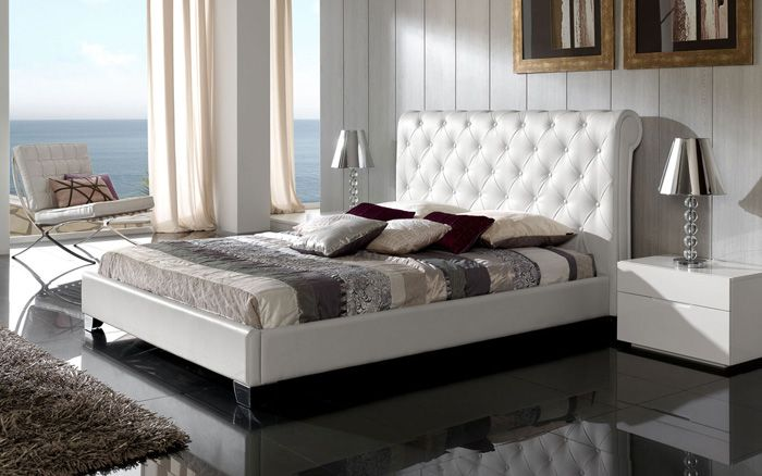 Cabeceros de cama tapizados Camas tapizadas, Cabecero y Tapizado