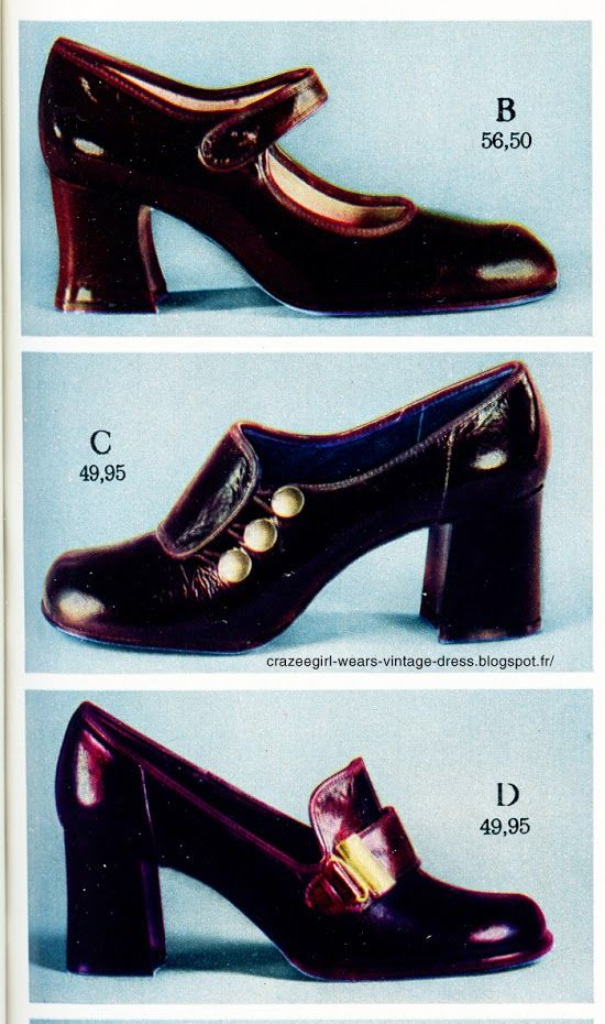 ec6c939775306 Vintage loafers , oxfords , brogues , chunky heels , granny shoes ...