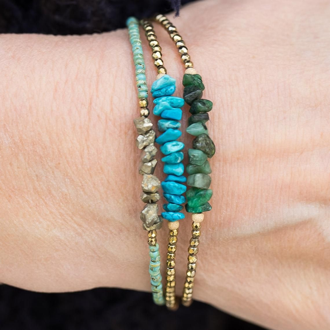 Gold And Turquoise Jewelry Gold And Turquoise Bracelet December Birthstone Wire Wrapped Bracelet Statement Bracelet Gemstone Bracelet
