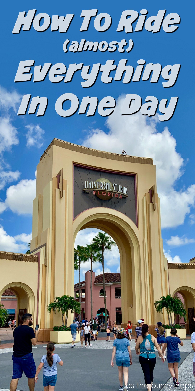 Universal Studios Orlando Parkplan