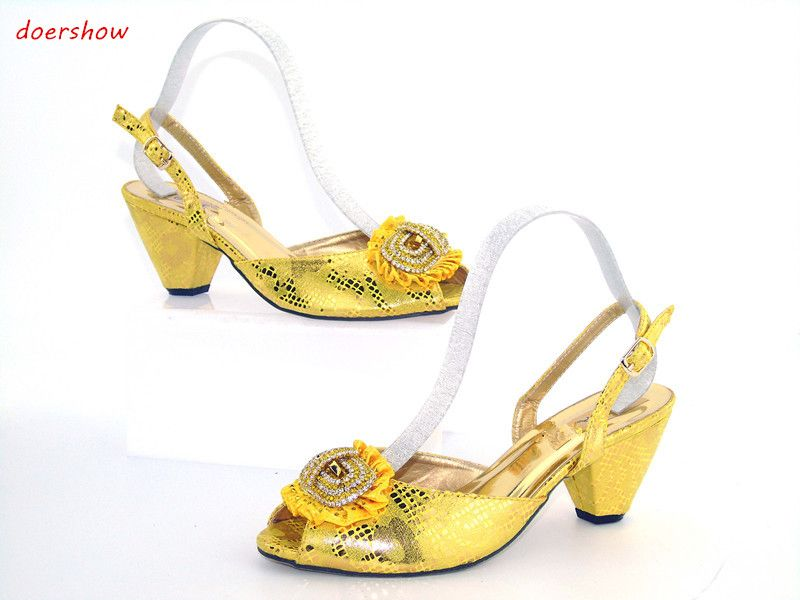 f0c283cac doershow new arrival women shoes good quality Italian Shoes with matching  Bags African shoes and bag