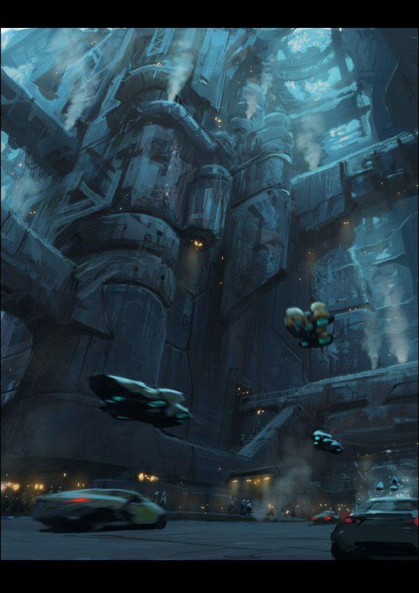 Sci Fi Environment Concept Art Ideas