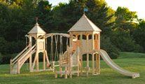 CedarWorks play set