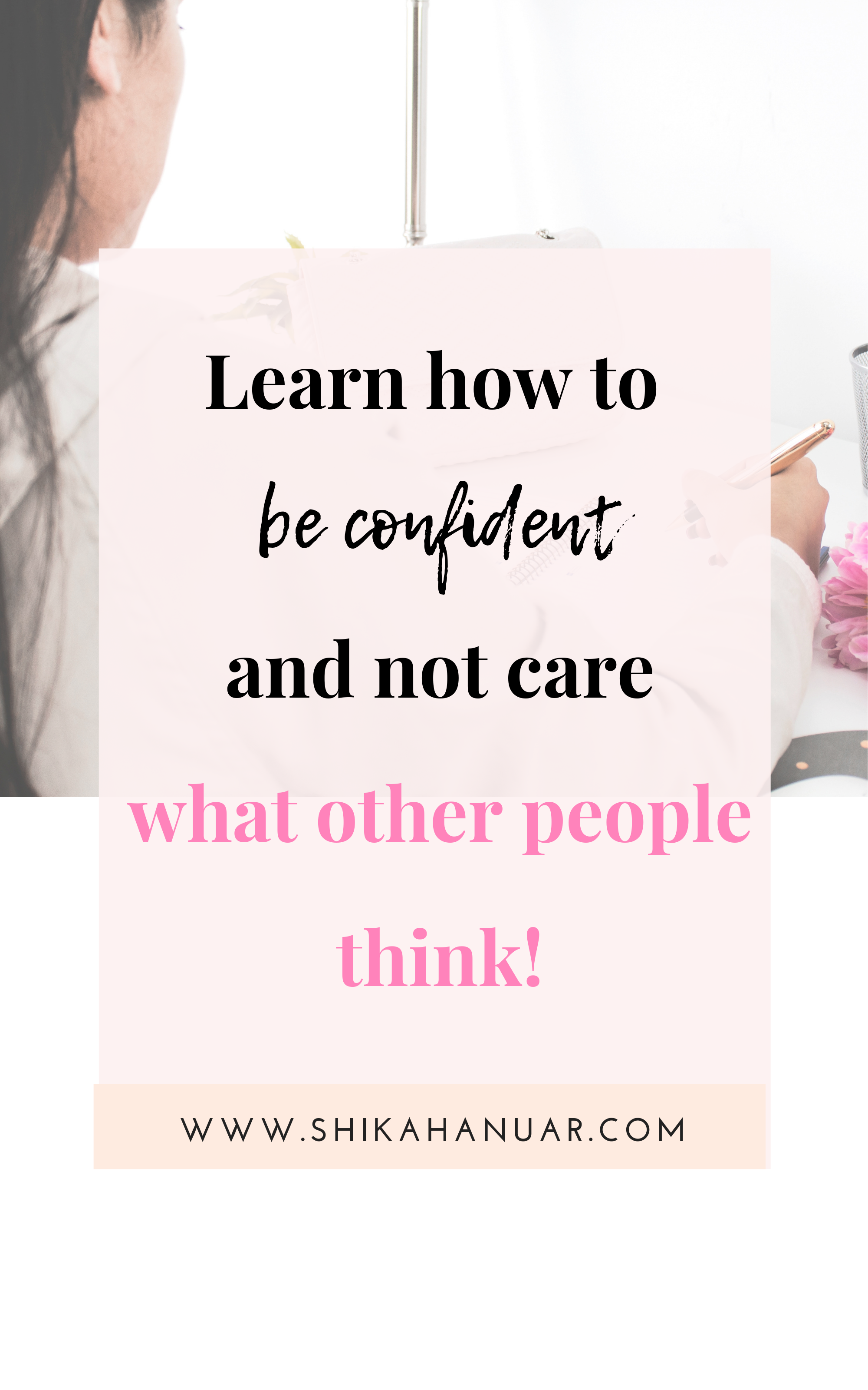 Free Printable How Not To Care What Other People Think