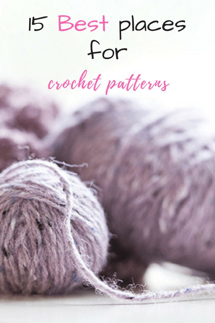 15 best places for crochet patterns crochet patterns and needlework bankloansurffo Image collections